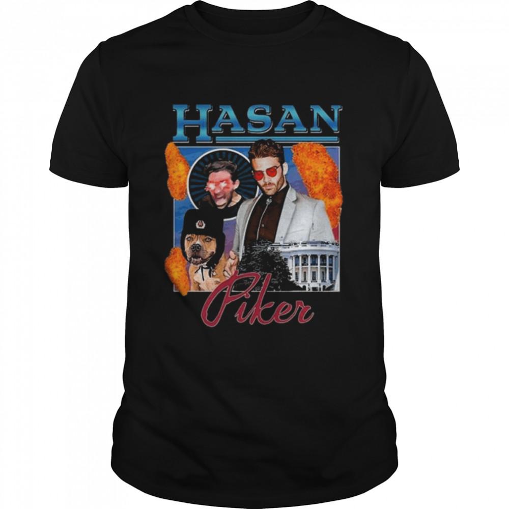 Hasan Piker Merch  Classic Men's T-shirt