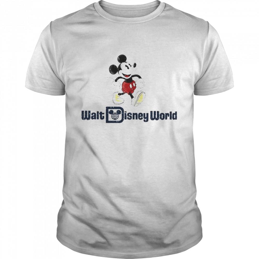 Mickey Mouse Walt Disney World shirt Classic Men's T-shirt