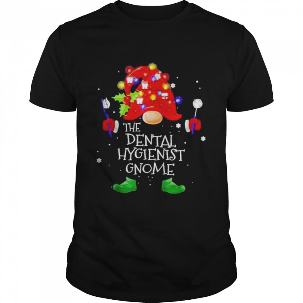 The dental hygienist gnome Christmas shirt Classic Men's T-shirt