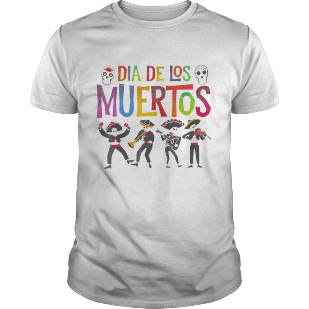 Dia De Los Muertos Day Of The Dead Mariachi Band T-shirt Classic Men's T-shirt