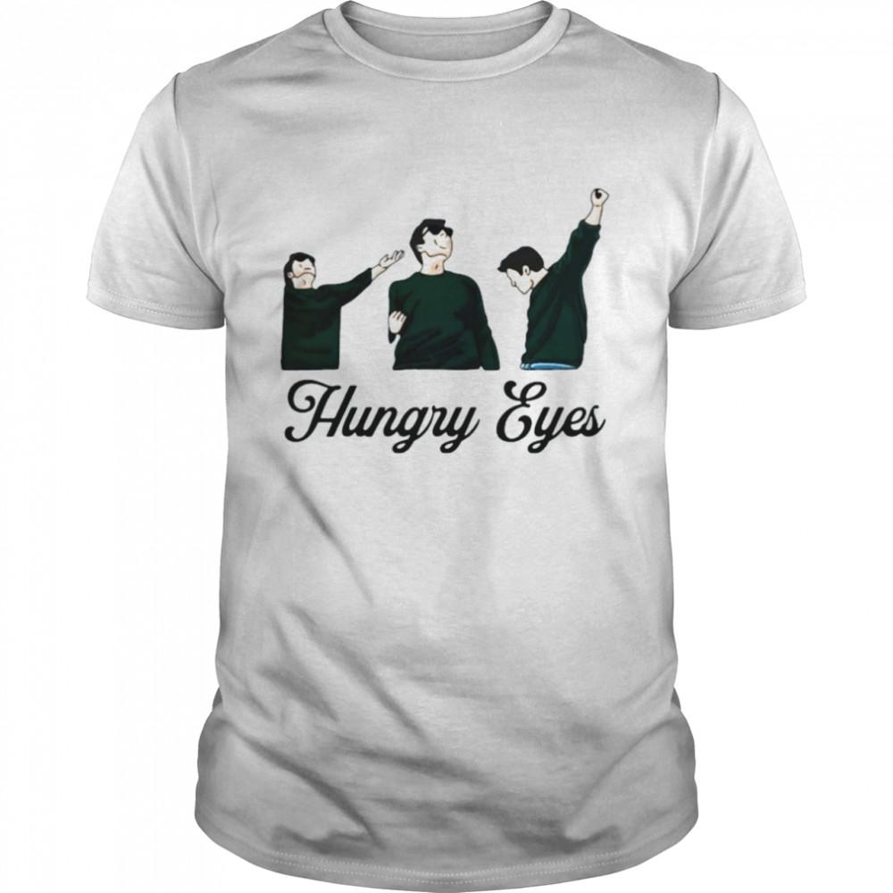 Hungry Eyes Sebastian Stan  Classic Men's T-shirt