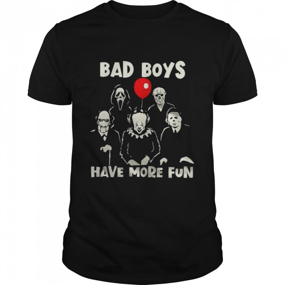 Bad Boys Have More Fun  Classic Men's T-shirt