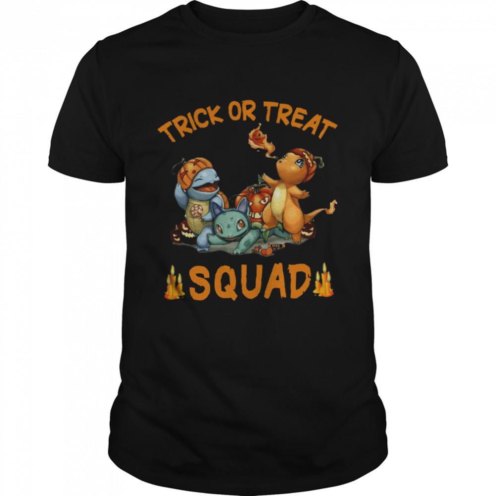 Pokemon Trick Or Treat Squad Happy Halloween  Classic Men's T-shirt