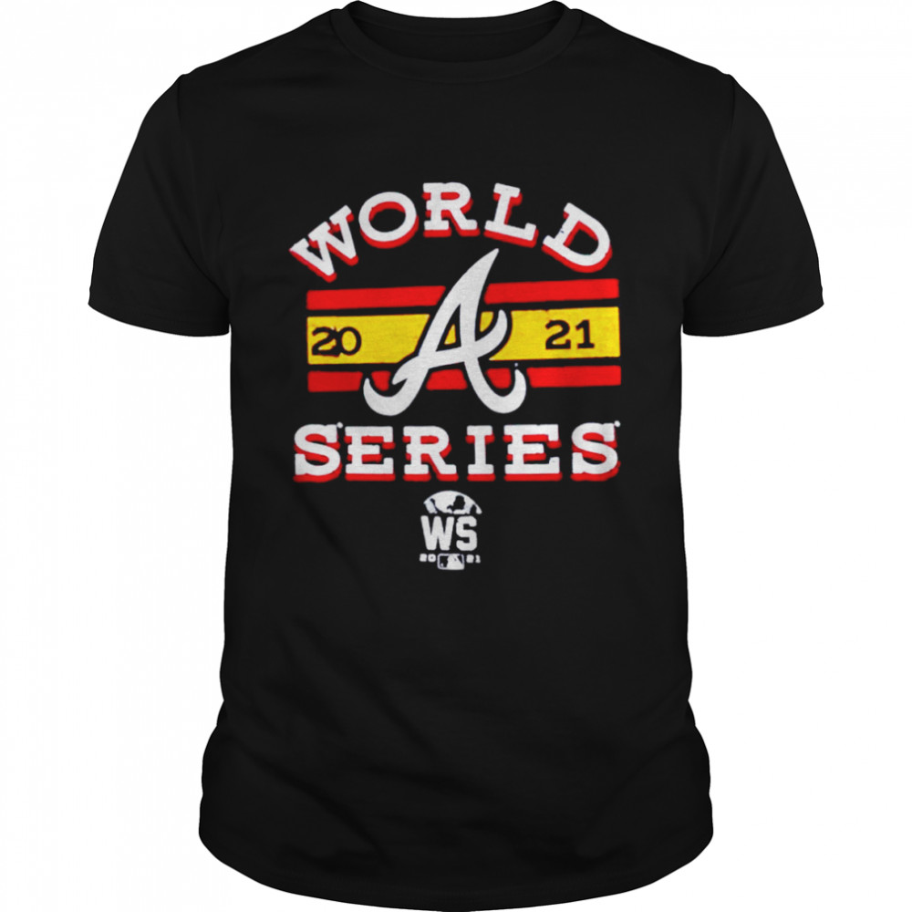 Premium atlanta Braves 2021 World Series Bound Contact Modest Retro shirt Classic Men's T-shirt