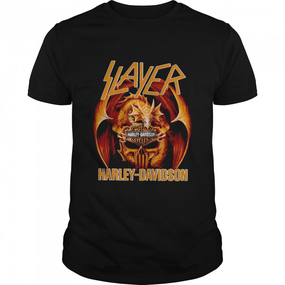 Slayer Harley Davidson shirt Classic Men's T-shirt