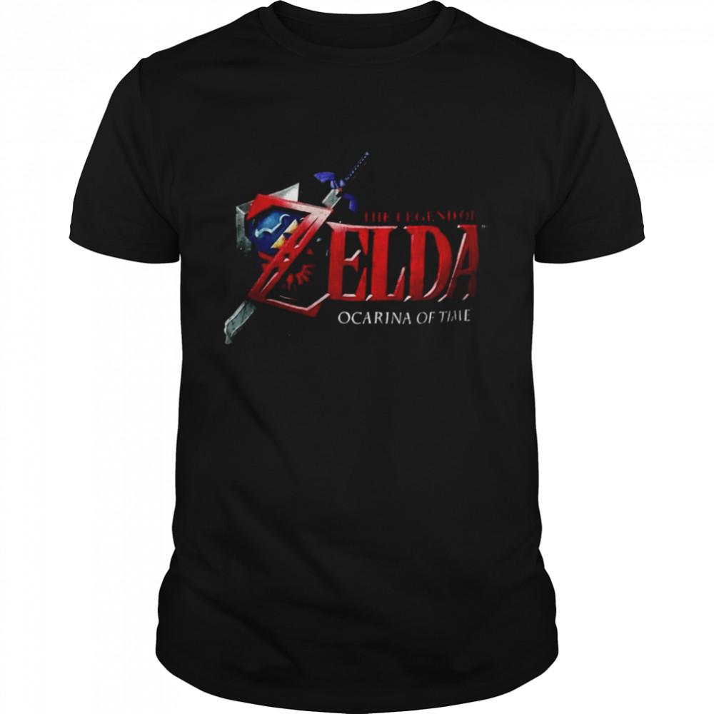 The Legend Of Zelda Ocarina Of Time T-shirt Classic Men's T-shirt