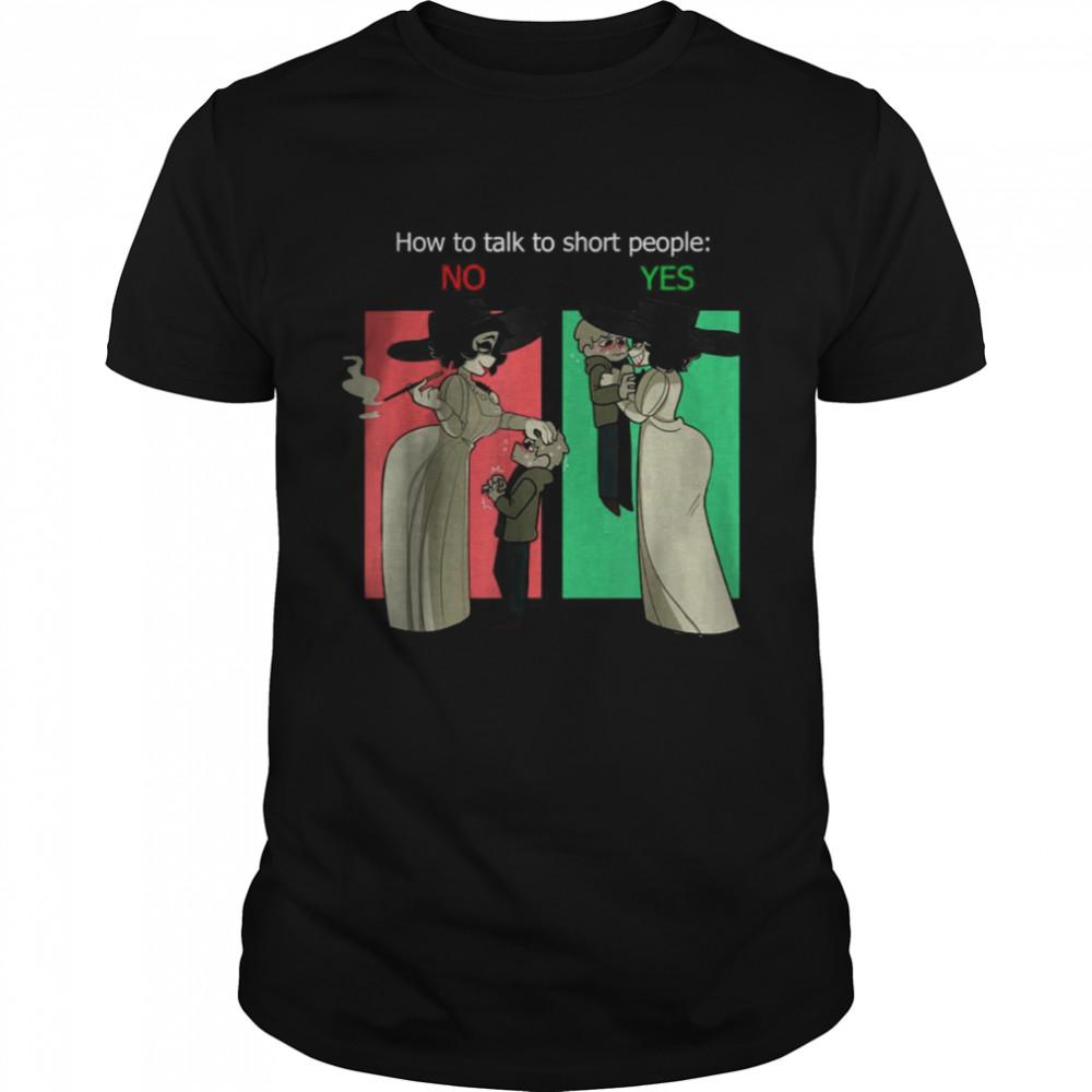 The Tall Lady Alcina Dimitrescu Talking T- Classic Men's T-shirt